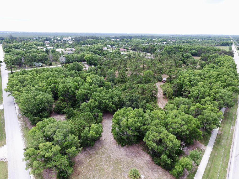 Pine Island Commercial Corner Lot in Lee County, FL