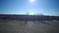 Gretna Potential Home Site with trees and creek in Sarpy County, NE