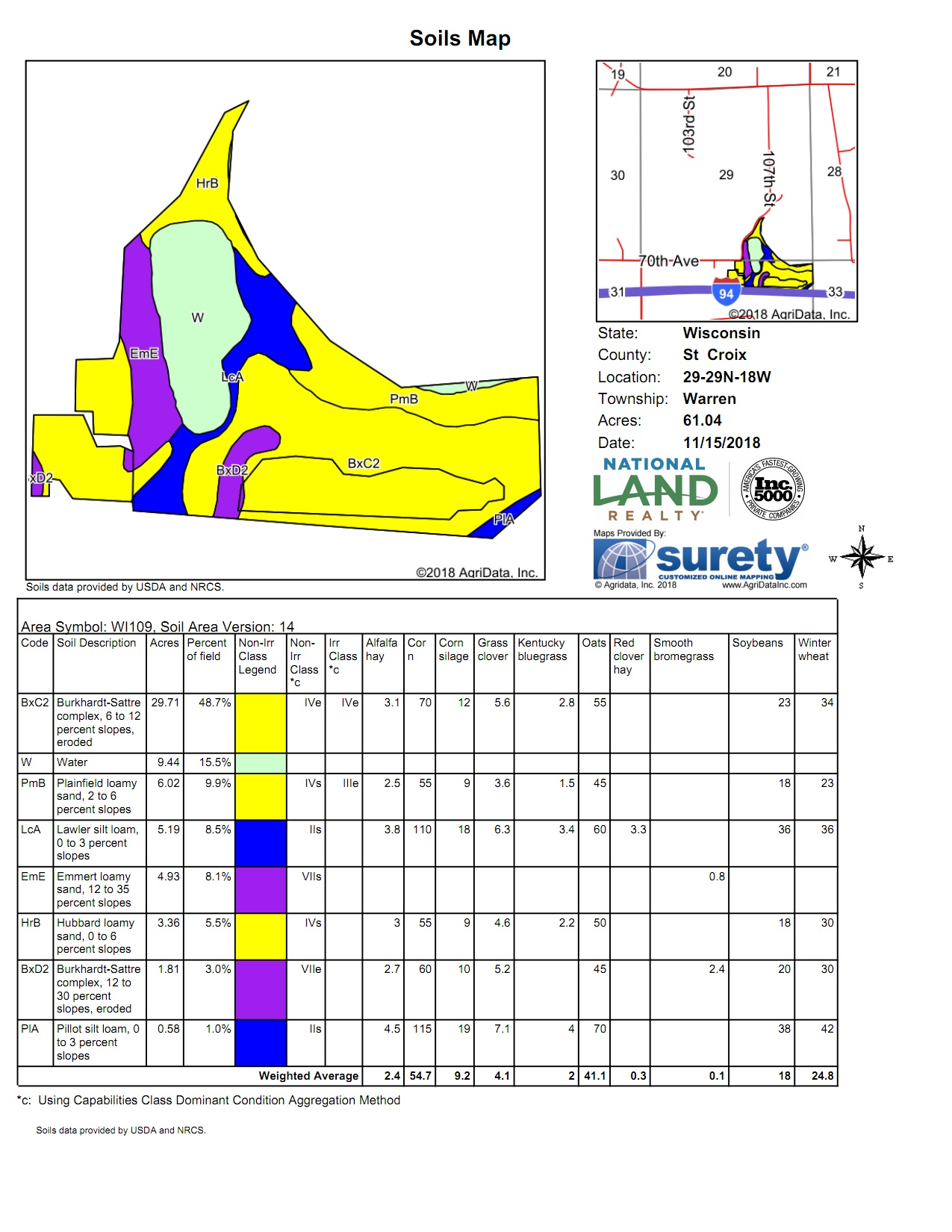 AgriData Soils Map<br>(Doc 4 of 7)