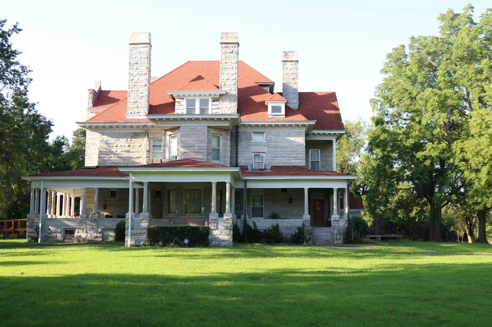Historic Home & Private Lake Near Carthage in Jasper County, MO