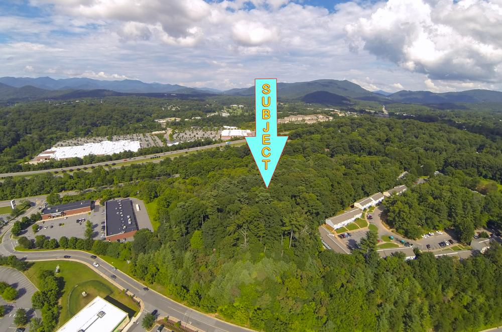 Over 9 acres of Commercial land within Asheville City limits in Buncombe County, NC