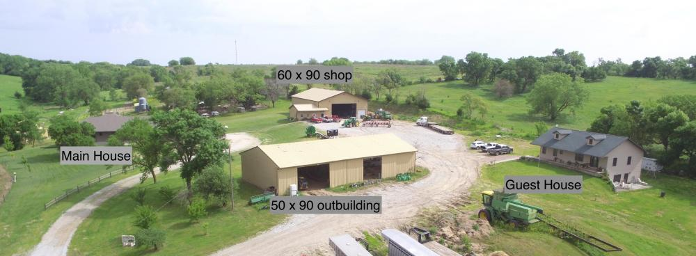 Brainard Acreage Living in Butler County, NE