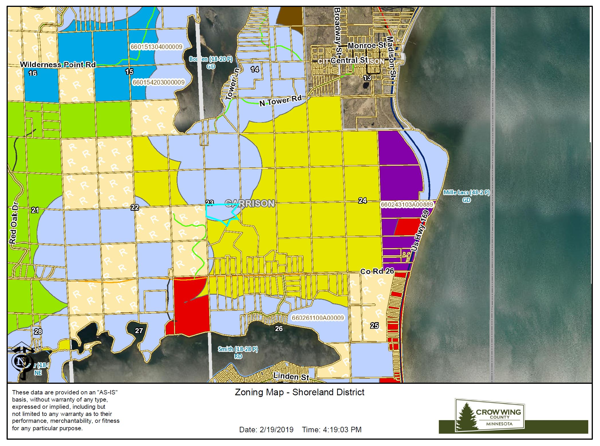 Zoning Map<br>(Doc 8 of 8)