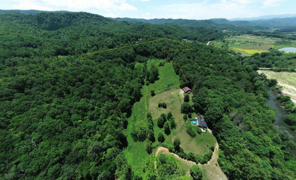 Mini Farm Pastures with Ridge Views and Waterfall in Henderson County, NC