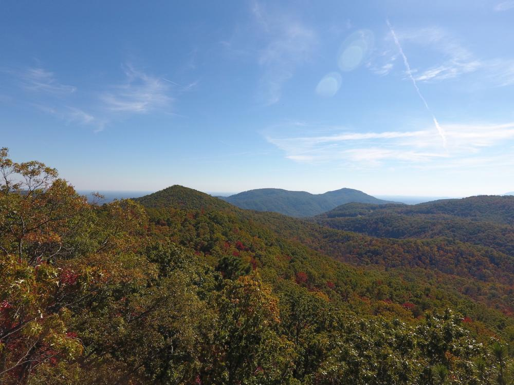 Panoramic Views from Multiple Knolls and Hardwood Forests in Buncombe County, NC