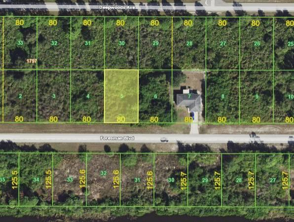 Beautiful Across from Water lot in Port Charlotte! in Charlotte County, FL