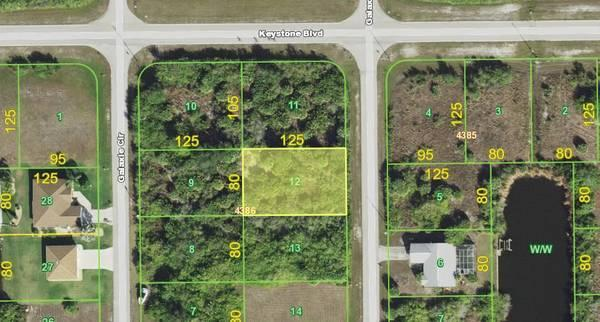 Invest or build your dream home in this Port Charlotte lot! in Charlotte County, FL