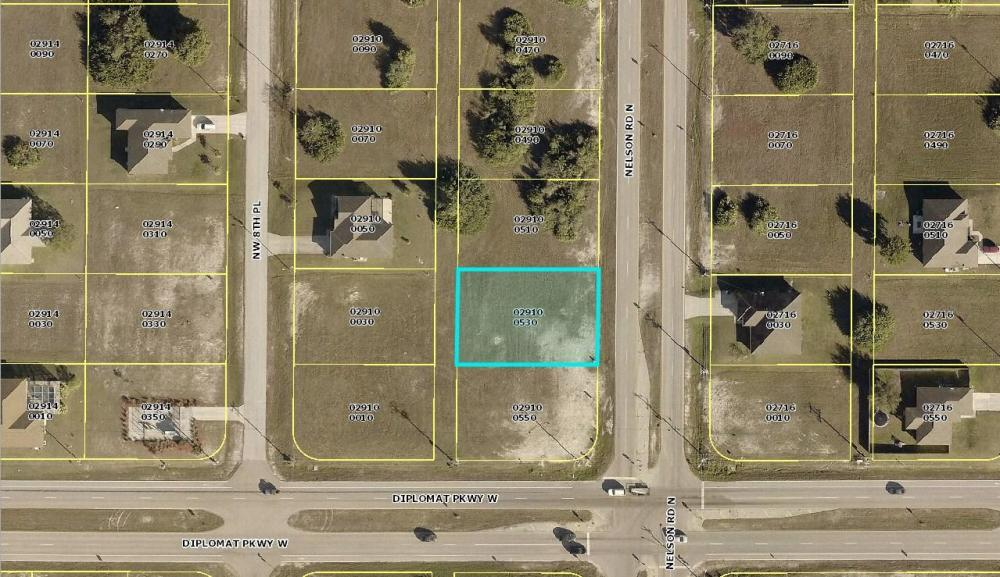 Wonderful Cape Coral lot! in Lee County, FL