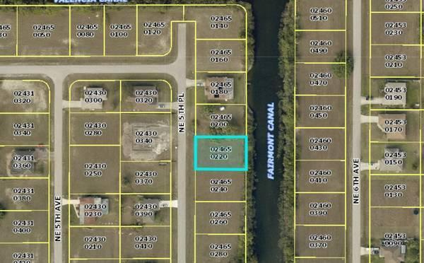 Wonderful Cape Coral Freshwater lot for sale!  in Lee County, FL