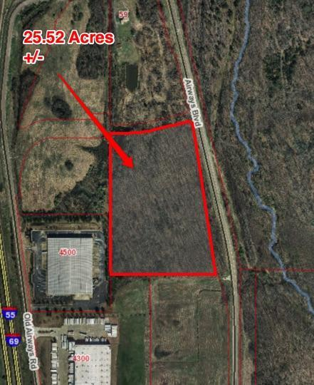 Prime Airways Commercial Tract West in DeSoto County, MS