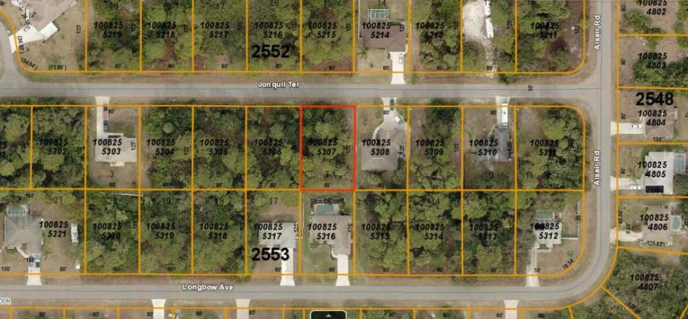 Amazing North Port lot! in Sarasota County, FL