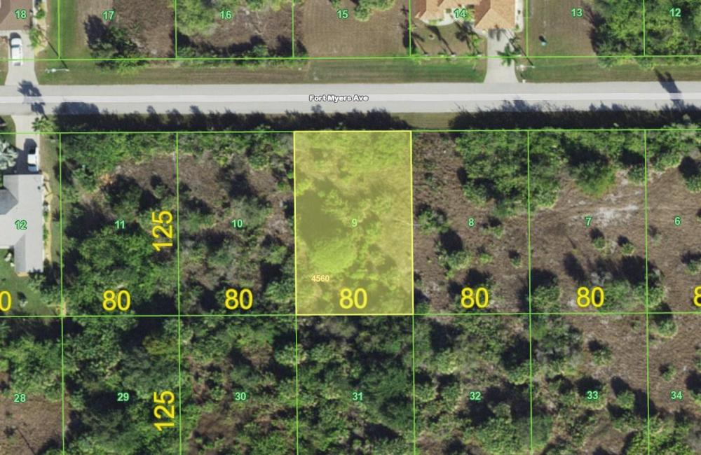 Great Port Charlotte lot! in Charlotte County, FL