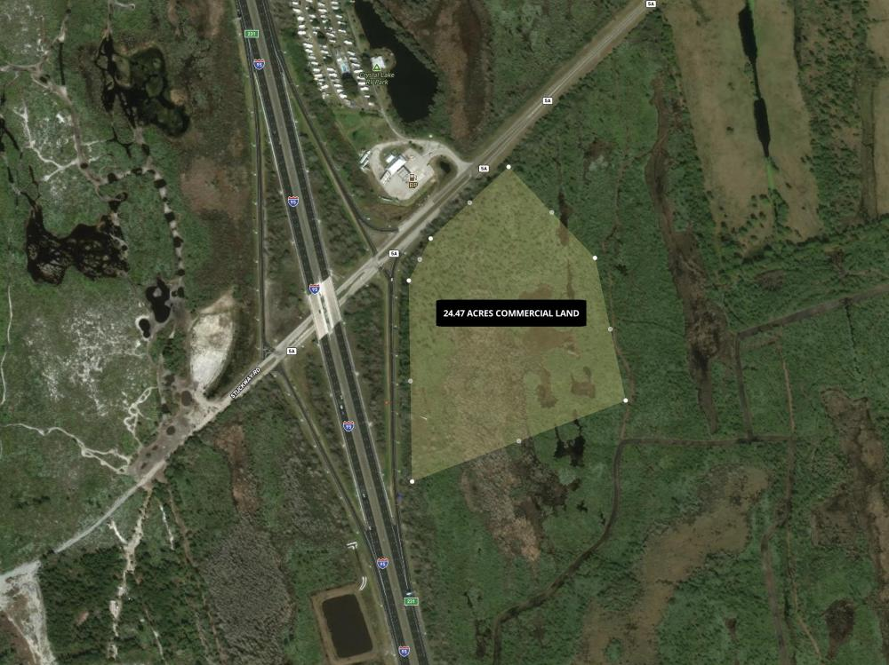 24.47 Acres High Traffic Retail Development Site in Brevard County, FL