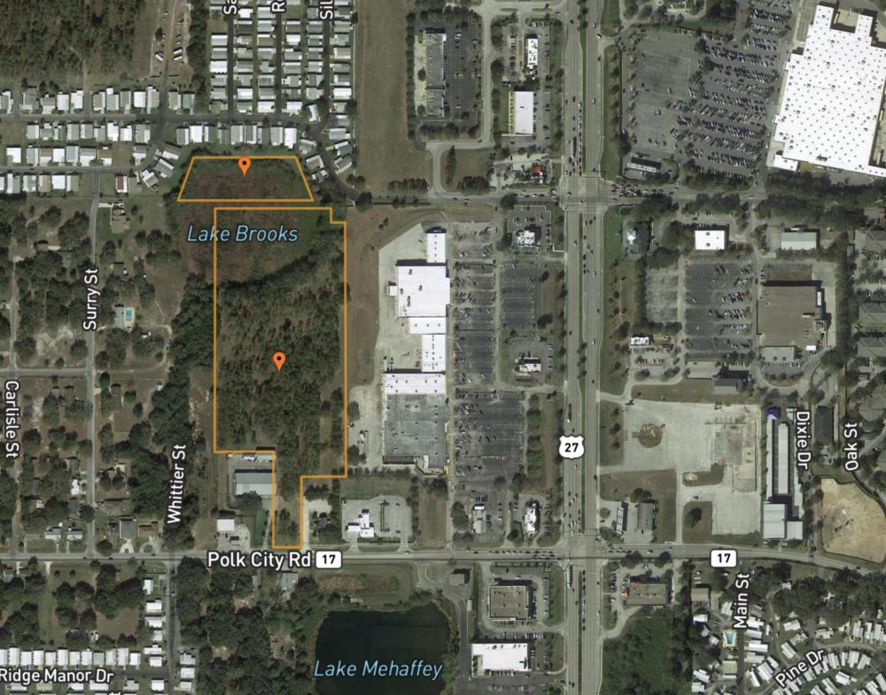 13.15 Acres for Mixed-Use Commercial off Hwy 27 in Polk County, FL