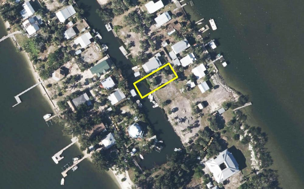Vacant Residential Vacation Island Playground in Brevard County, FL