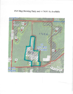 FSA Map Showing Dairy - 74.81 Ac<br>(Doc 8 of 13)