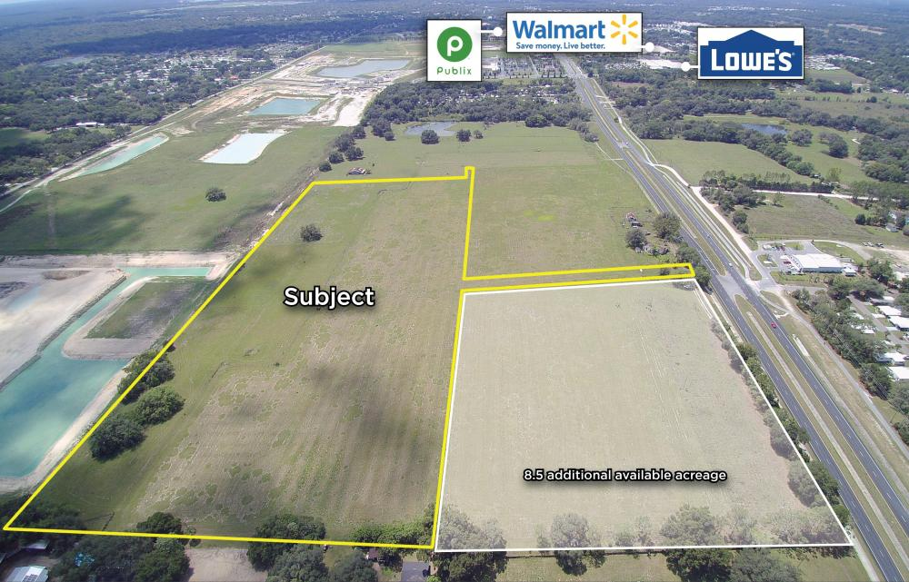24+ Acre Multi-Family property on Gall Blvd (US 301) in Pasco County, FL