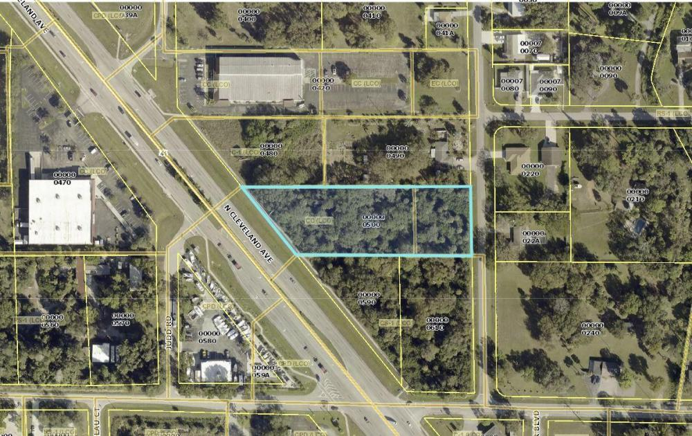 North Fort Myers Community Commercial Development  in Lee County, FL