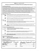 Lead-Based Paint Disclosure<br>(Doc 3 of 8)