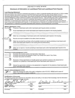 Lead-Based Paint Disclosure<br>(Doc 4 of 8)