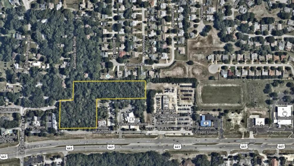5.89 Acres Highway Commercial  in Lake County, FL