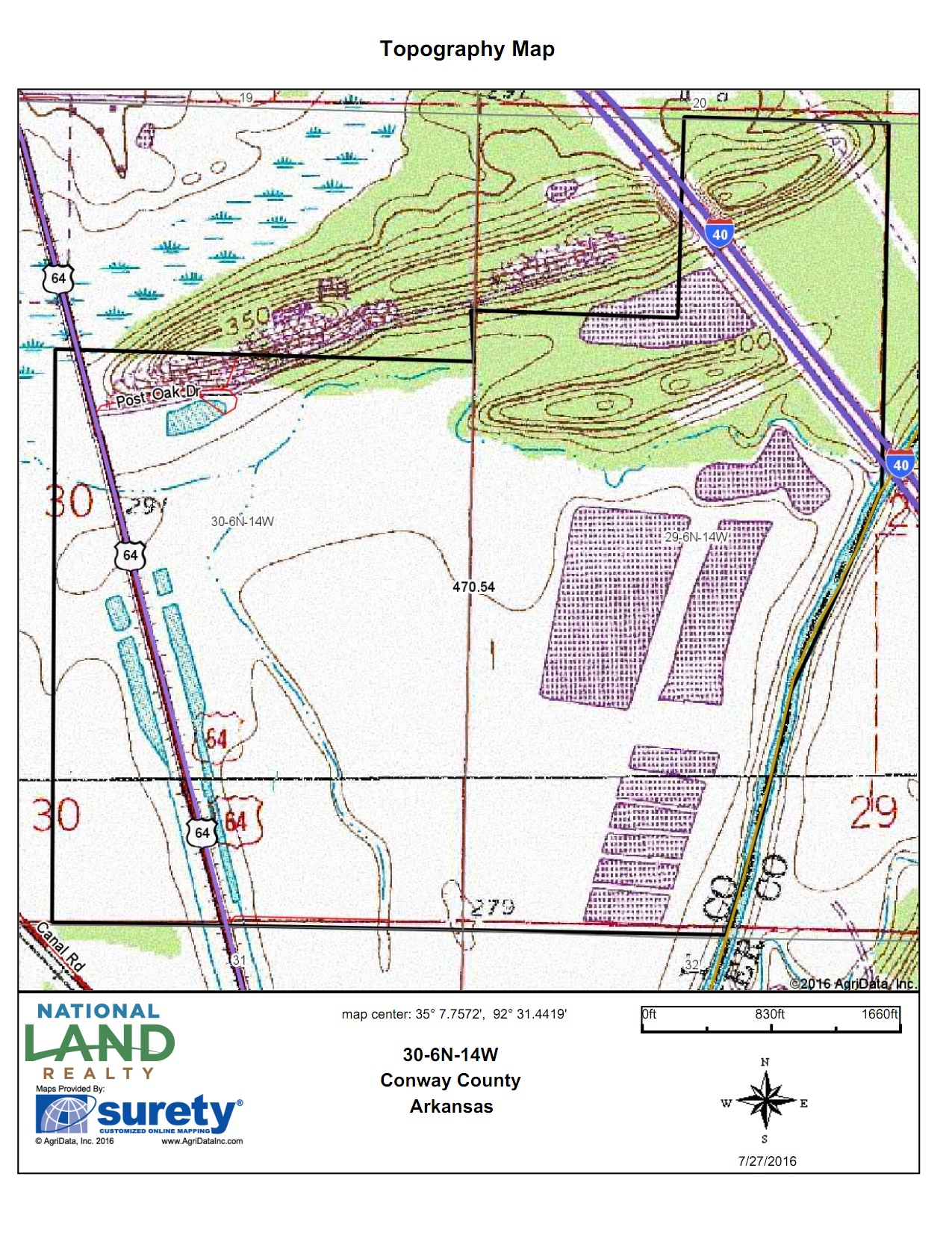 Topo Map<br>(Doc 4 of 7)