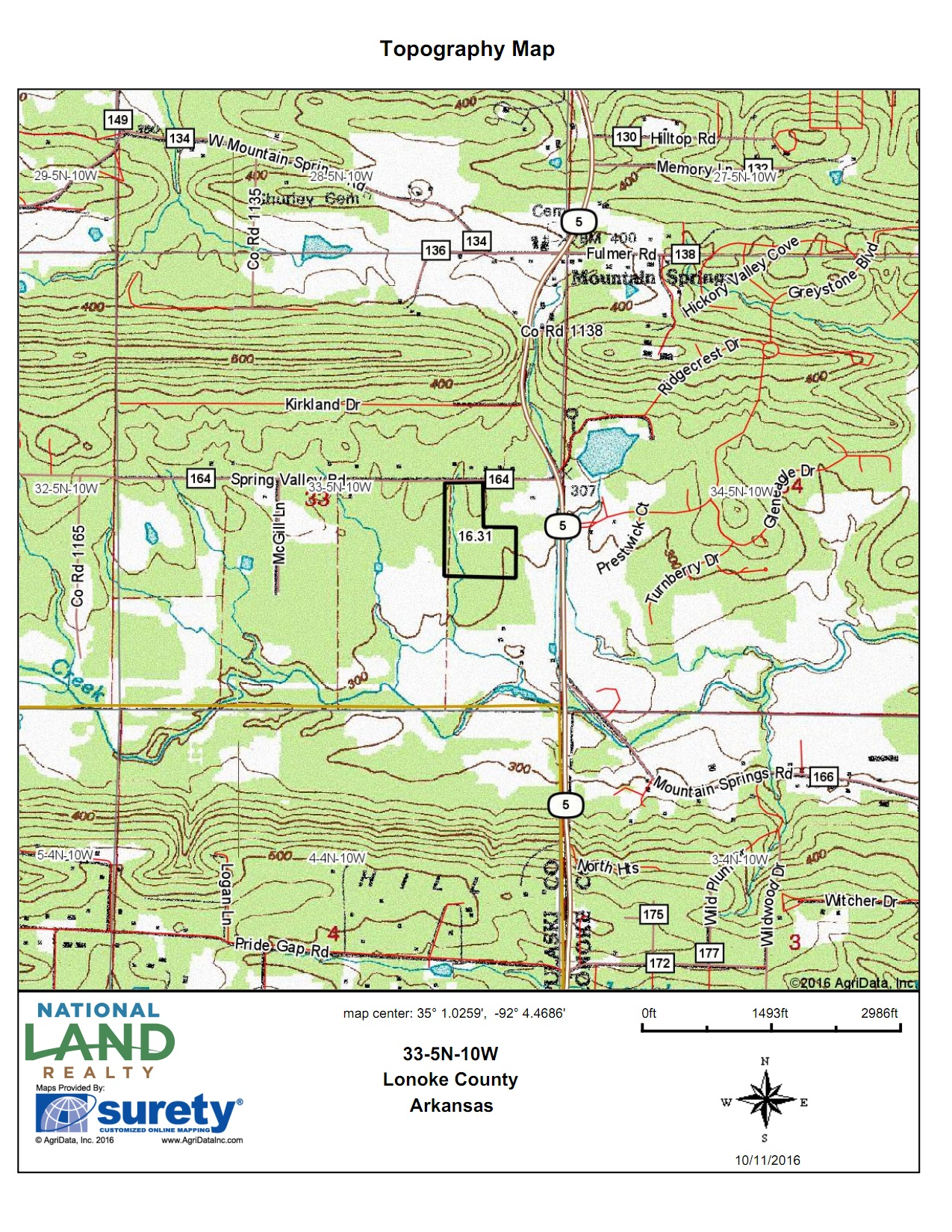 Topo Map<br>(Doc 3 of 5)