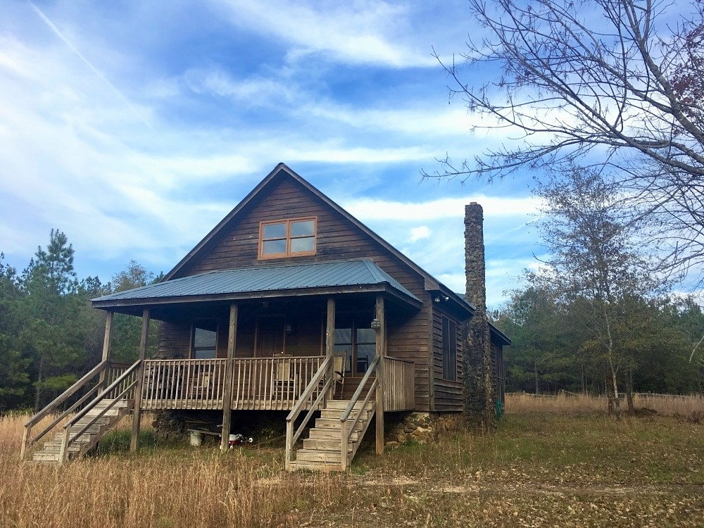 Cabin with Hunting and Timber Land in Lancaster County South