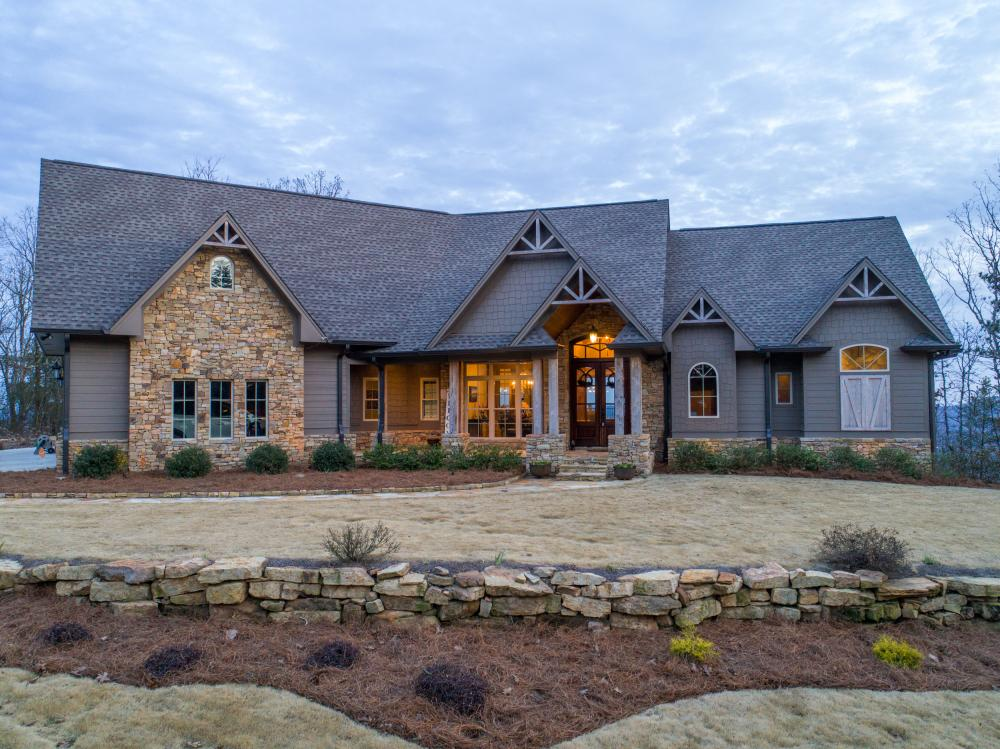 Springville Pine Mountain Tract With Custom Home