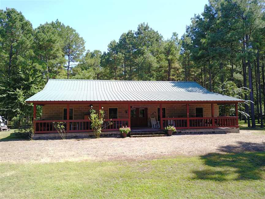 139+/- Acres on Ouachita River with Cabin in Hot Spring County, AR